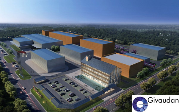 Givaudan's new facility at Changzhou, Jiangsu Province, China